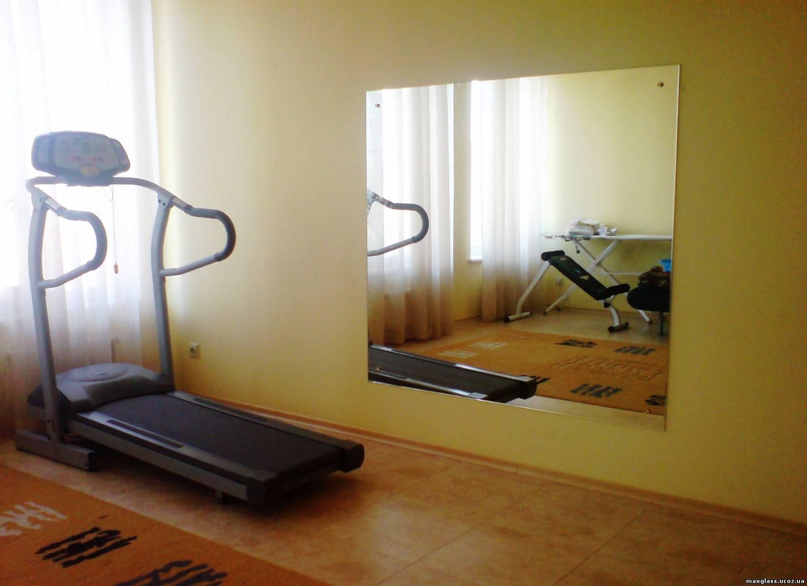 Зеркала в спортзале своими руками 78